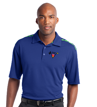 Lincoln Valley Golf Course - Nike Golf Dri-FIT Graphic Polo