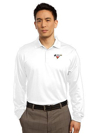 Lincoln Valley Golf Course Nike Golf Long Sleeve Dri-FIT Stretch Tech Polo