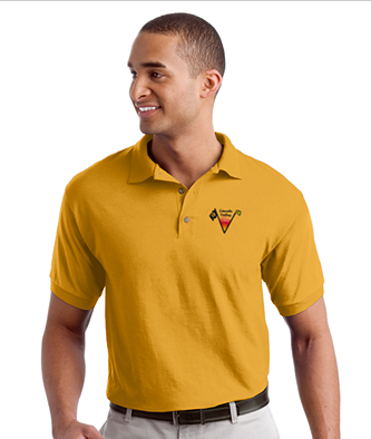 Lincoln Valley Golf Course - Gildan - DryBlend 6-Ounce Jersey Knit Sport Shirt