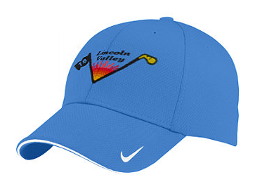 Lincoln Valley Golf Course - Nike Golf - Dri-FIT Mesh Swoosh Flex Sandwich Cap