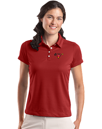Lincoln Valley Golf Course - Nike Golf - Ladies Dri-FIT Pebble Texture Polo