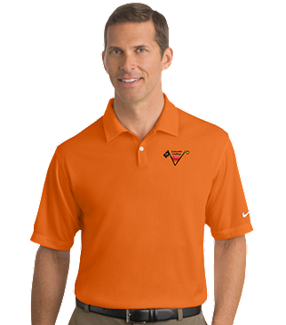 Lincoln Valley Golf Course Nike Golf - Dri-FIT Pebble Texture Polo