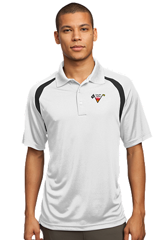 Lincoln Valley Golf Course - Sport-Tek -  Zone Colorblock Raglan Polo