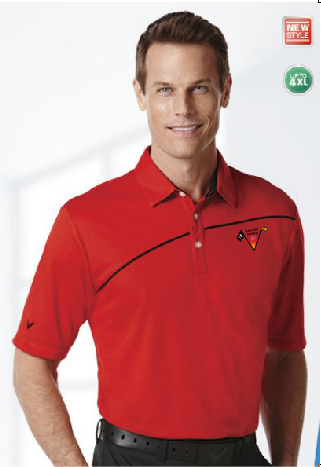 Lincoln Valley Golf Course Callaway Piped Performance Polo