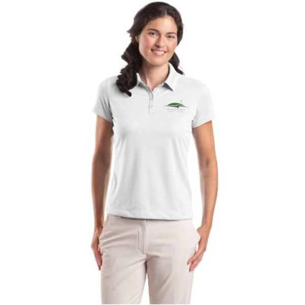 Woodward - Nike Golf - Ladies Dri-FIT Pebble Texture Polo