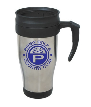 Perry Country Club 14 Oz. Stainless Steel Travel Mug