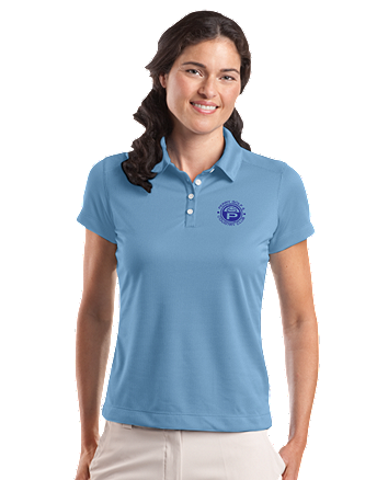 Perry Country Club Nike Golf - Ladies Dri-FIT Pebble Texture Polo