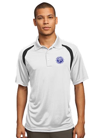 Perry Country Club Sport-Tek -  Zone Colorblock Raglan Polo