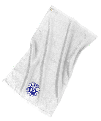 Perry Country Club Port Authority® Grommeted Golf Towel