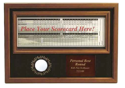 Lincoln Valley Golf Course - Personal Best Ball & Scorecard Display