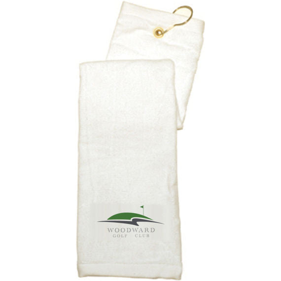 Woodward - Port Authority - Grommeted Tri-Fold Golf Towel