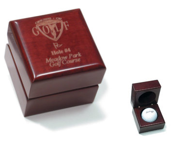 Perry Country Club Collector Ball Box