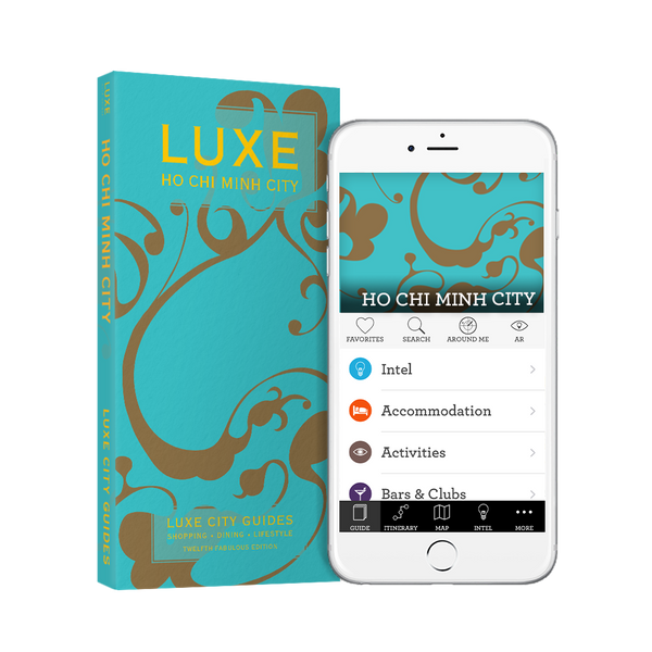 LUXE Ho Chi Minh City 12th Edition + Free Digital Guide