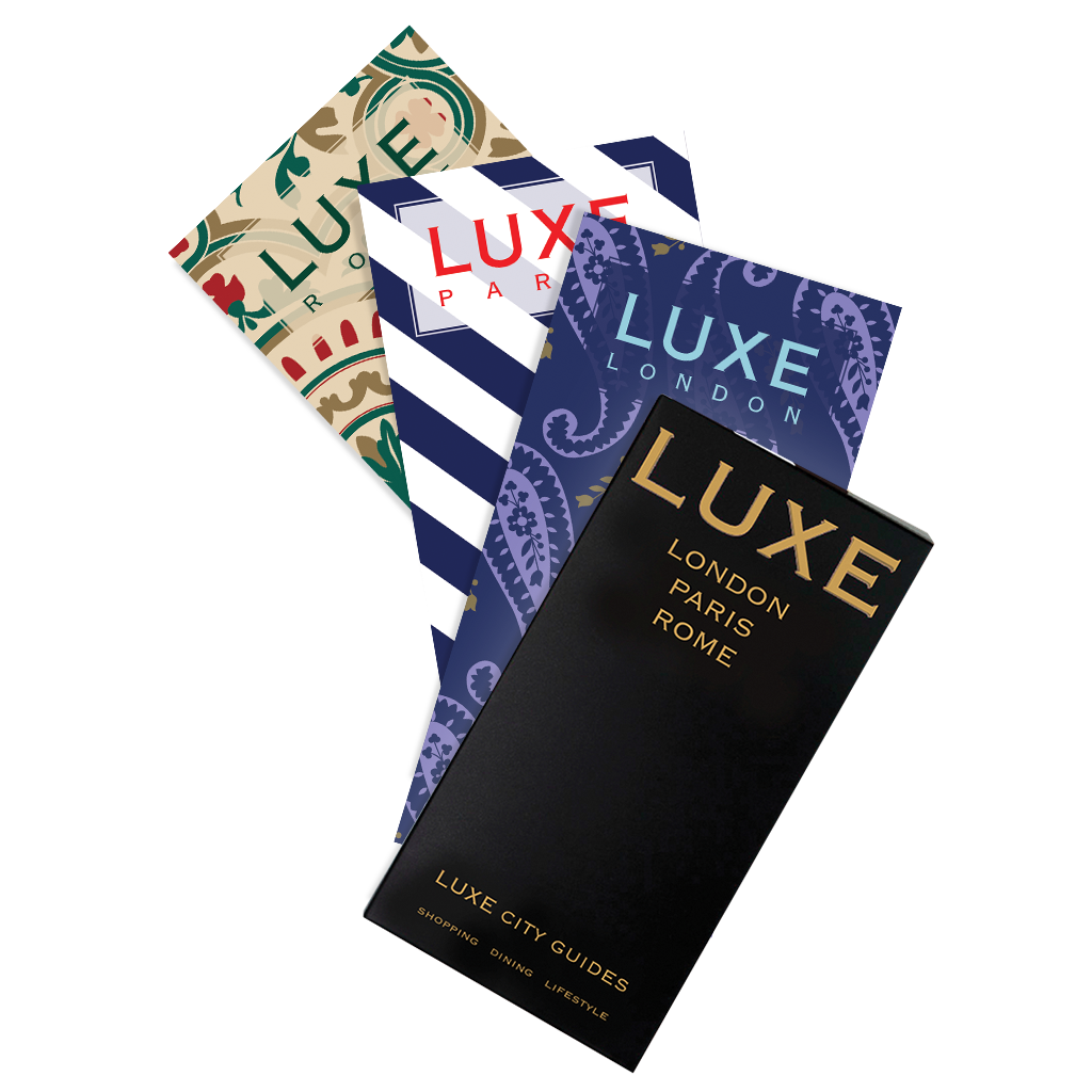 LUXE European Travel Set 5th Edition - LUXE City Guides