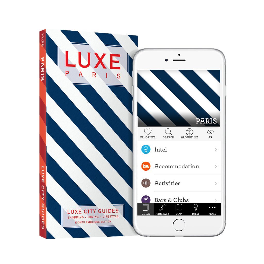 LUXE Paris 8th Edition + Free Digital Guide