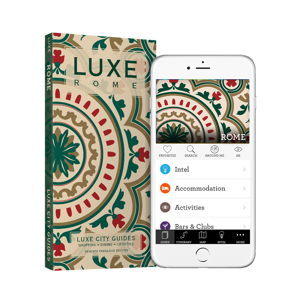 LUXE Rome 7th Edition + Free Digital Guide - LUXE City Guides