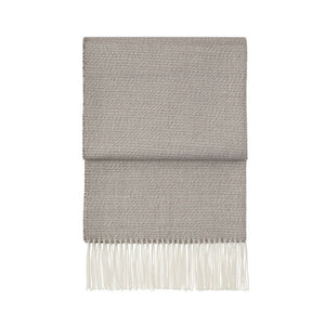 Breeze throw  -beige, latte & white
