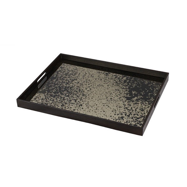 Bronze mirror tray - rectangular