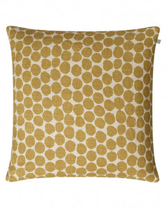 Linen Dot Ari - Spicy Yellow
