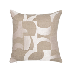 Abstract Cushion - Pale Coral