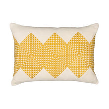 Load image into Gallery viewer, Geotile Cushion - Chartreuse