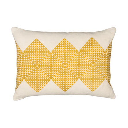 Geotile Cushion - Chartreuse