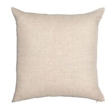 Load image into Gallery viewer, Velvet Linen Cushion - Chartreuse Square