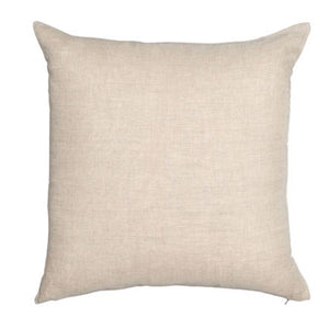 Velvet Linen Cushion - Chartreuse Square