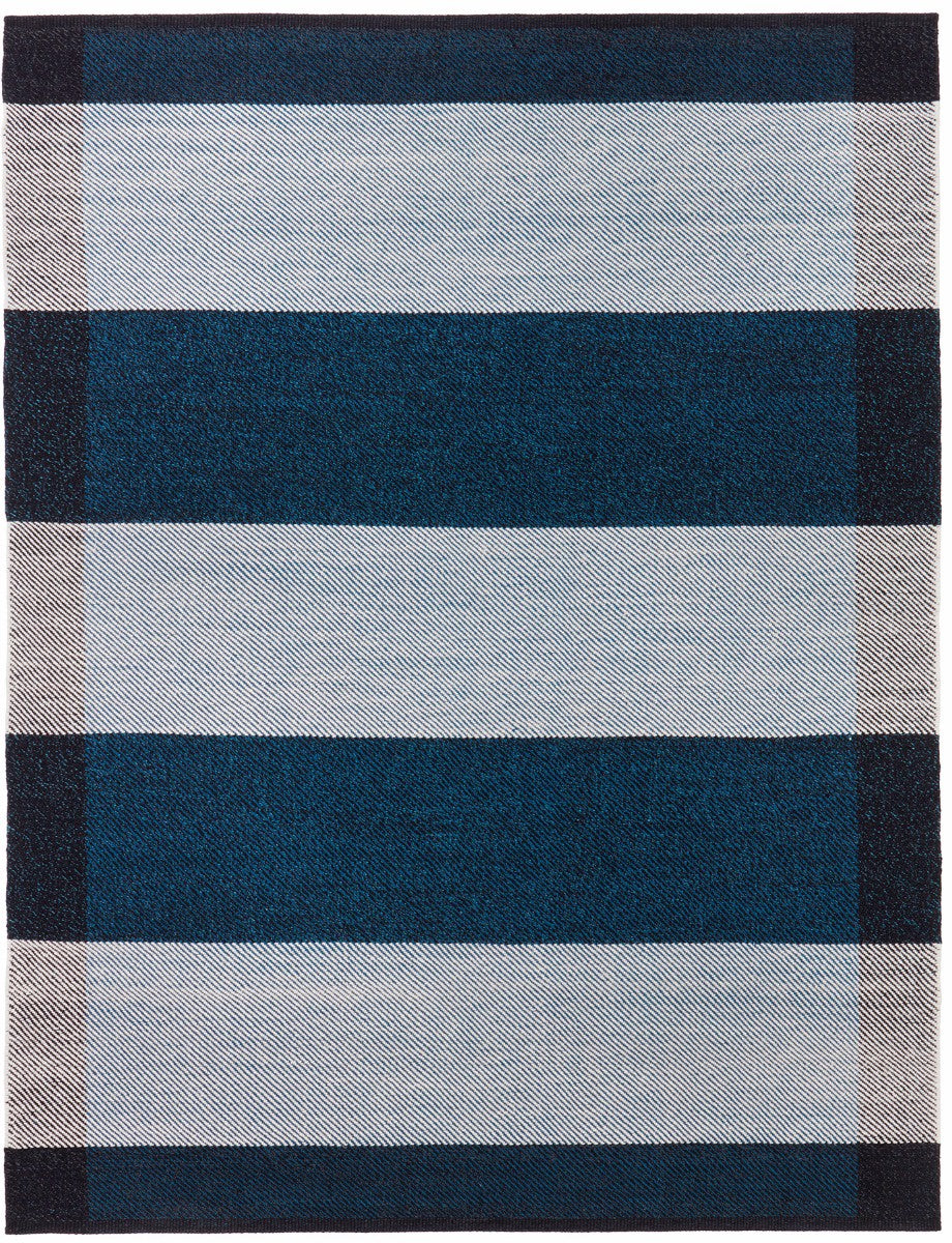 Salvia Midnight & Off White Rug