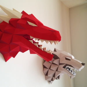 Game of Thrones Dragon 3D