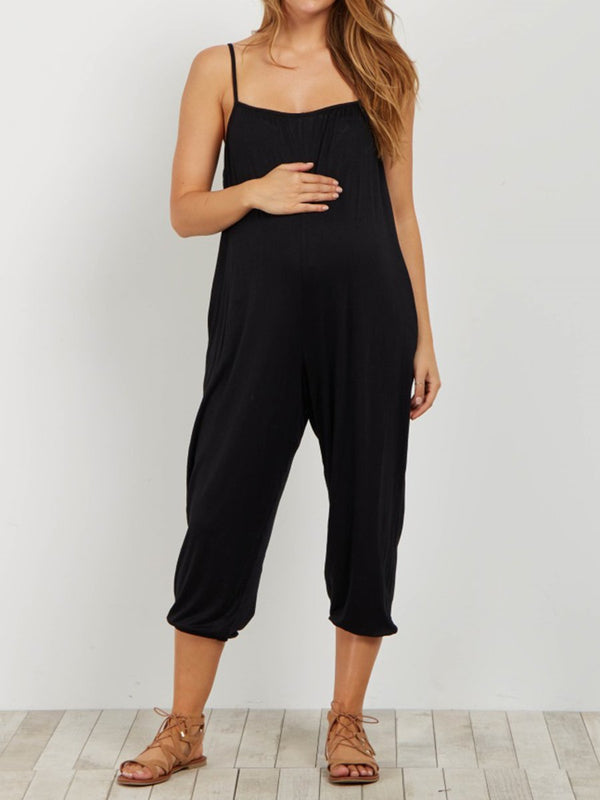 Pregnant Women Casual Jumpsuit Overalls