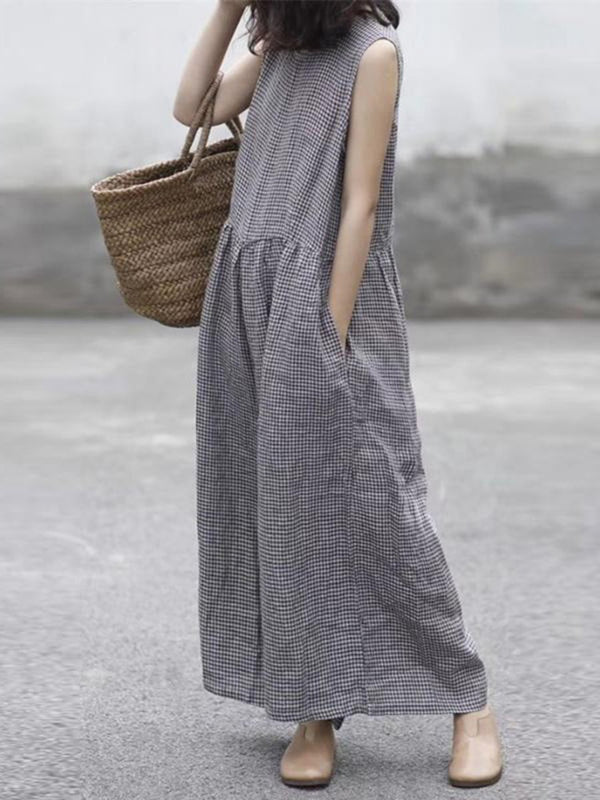 Wrap Chest Solid Casual Loose Wide Leg Jumpsuit