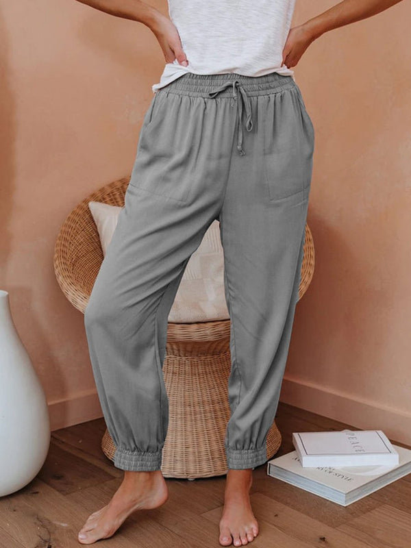 Fashionable Casual Foot Trousers