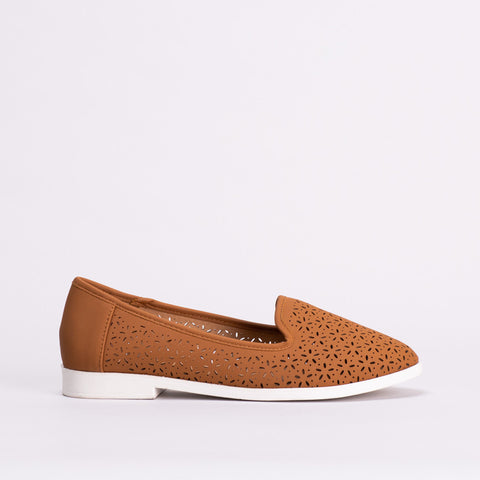 Cut-Out Design Flat Shoe _ 118975