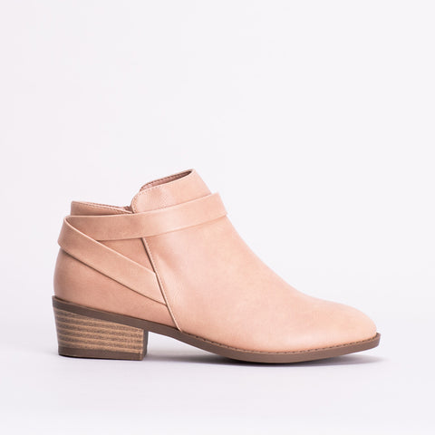 Strap Detail Ankle Boot _ 118982