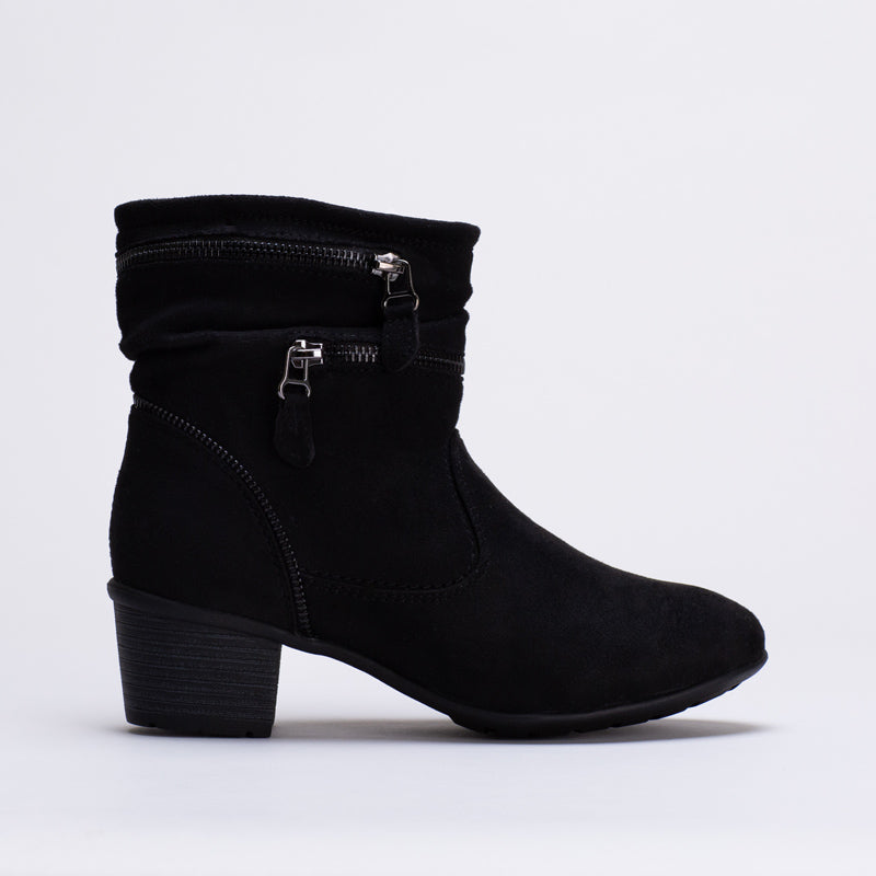 Ankle Boot With Zips _ 119015