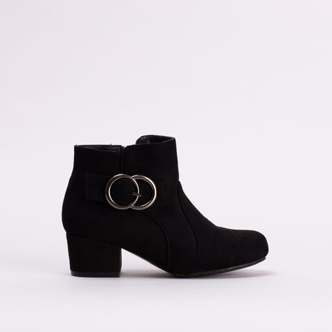 Block Heel Boot _ 119691