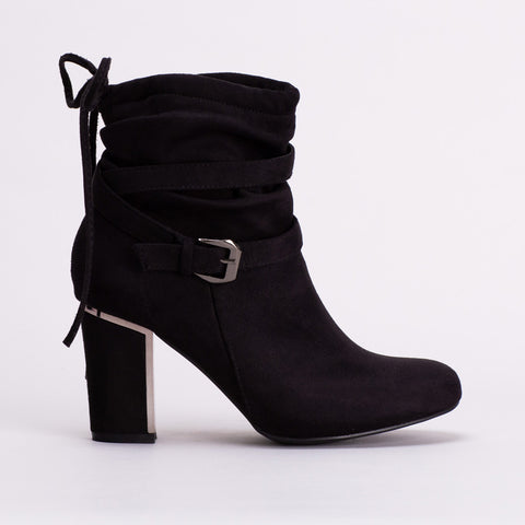 Block Heel Boot _ 108847