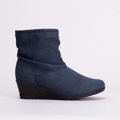 Comfort Wedge Boot _ 108871
