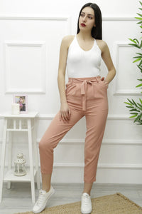 Women's Power Rose Texture Pants - Trendyul