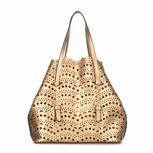 Women's Bronze Shoulder Bag - Trendyul