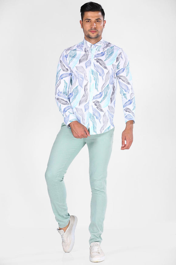 Men's Basic Mint Green Pants - Trendyul