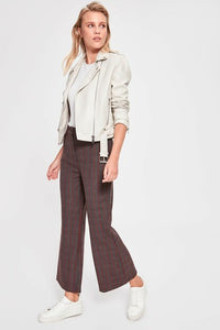 Women's Wide Legs Anthracite Pants - Trendyul