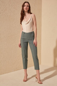 Women's Mint Green Pants - Trendyul