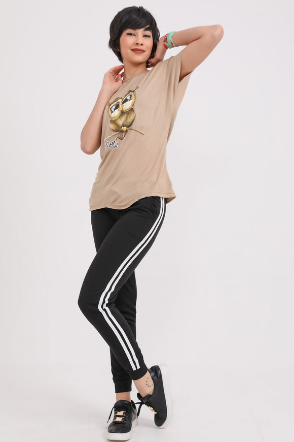 Women's Side Striped Sport Pants - Trendyul