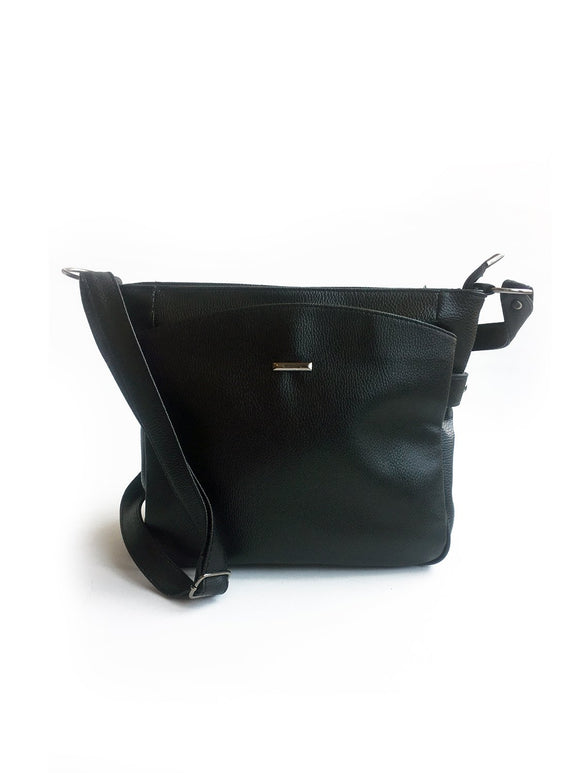 Women's Pocket Black Crossbody Bag - Trendyul
