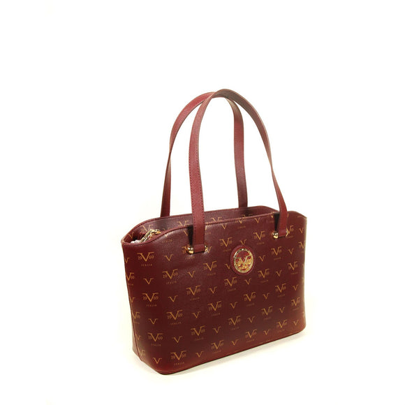 Women's Patterned Claret Red Bag - Trendyul