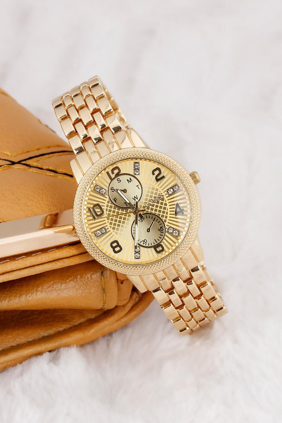 Women's Metal Wrist Watch - Trendyul