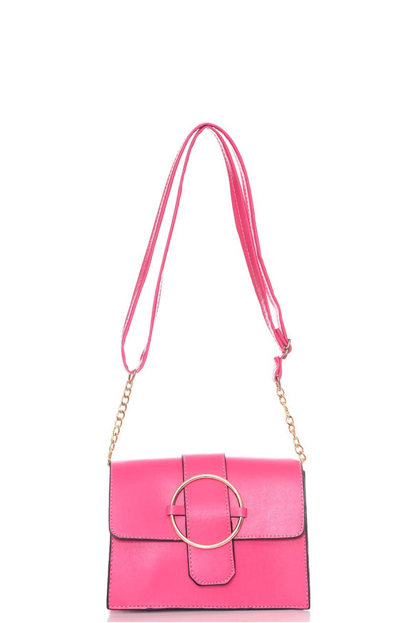 Women's Fuchsia Shoulder Bag - Trendyul