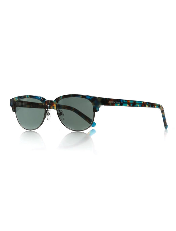 Women's Patterned Plastic Sunglasses - Trendyul
